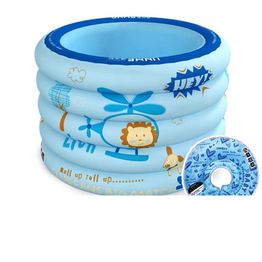 Infant Pool/Aufblasbare gepolstert Hause Freizeitbad/Neue Baby Kind schwimmen Fässer-B