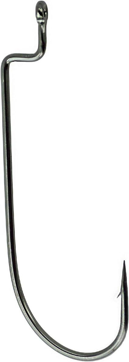 Gamakatsu Worm 325/Micro Game Size 6/Offset Hooks