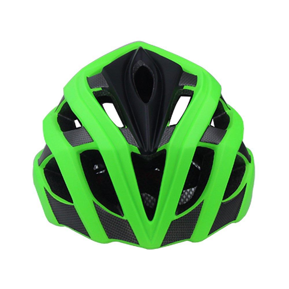 verde Smtutti Casco da Bici per Bambini Sicurezza Multi-Sport Ventilazione Super Leggera Casco da Bicicletta Resistente agli Urti Cas  da Bicicletta,verde,S