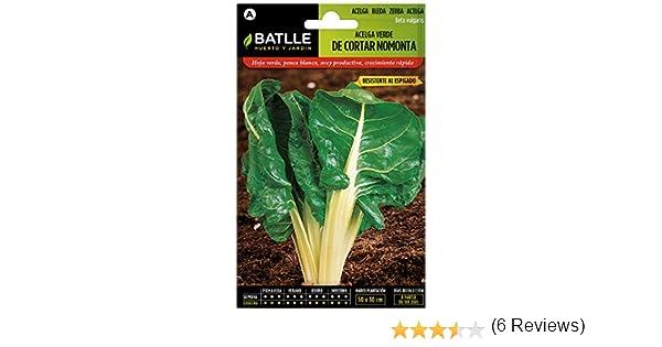 Semillas Hortícolas - Acelga verde de cortar sel. Nomonta - Batlle ...