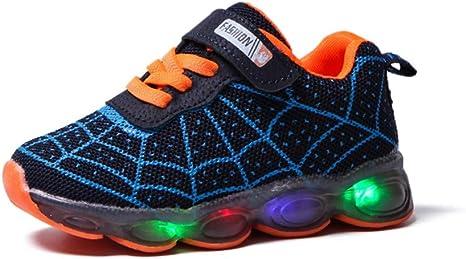 Chaussures b/éb/é enfants filles Cartoon Rabbit LED baskets sport lumineuses enfants 18-24 mois Pas cher Bottines Baskets pour Saint-Patrick Chaussures premiers pas enfant 23