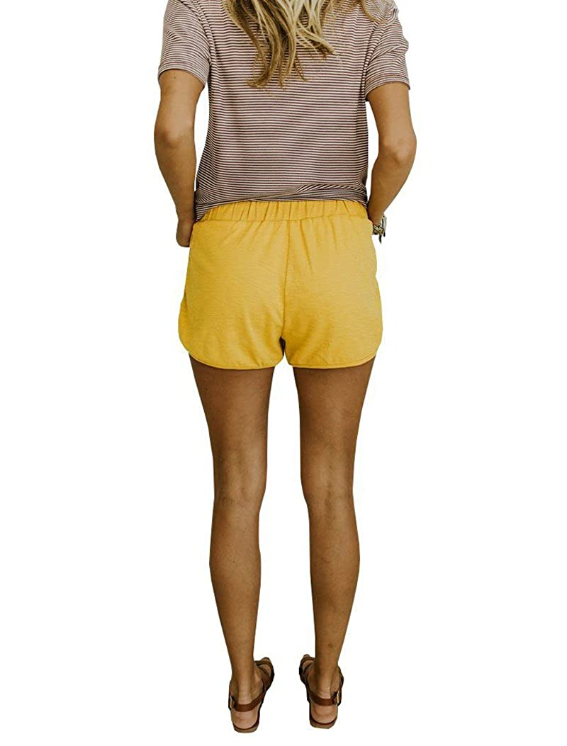 Minthunter Womens Casual Sports Home Comfort Solid Color Shorts Cool Casual Short Hot Pants
