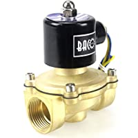 "BACOENG AC 220V 1"" válvula de solenoide eléctrica"