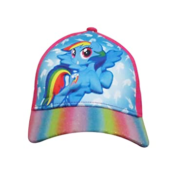 My Little Pony Baseball Cap Rainbow Dash Blue 3D-Popup Kids Girls ... 40e414106c7b