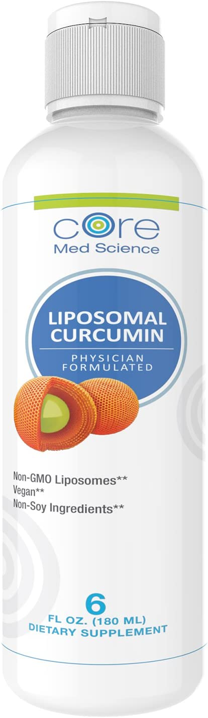 Optimized Liposomal Curcumin Liquid 250 mg, High Absorption Turmeric, from Non-GMO Sunflower, Soy Free – Powerful Antioxidant Supplement