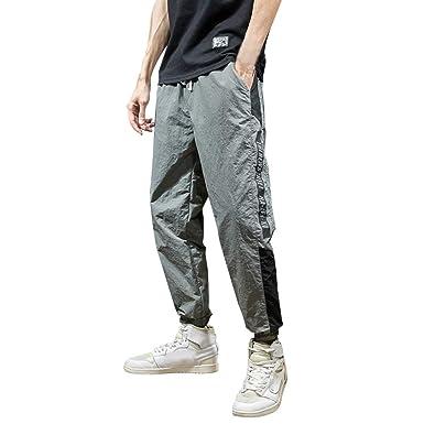 Longra 🌹 🌹 🚵♀️ Pantalón Casual Hombre! Hombres Verano ...