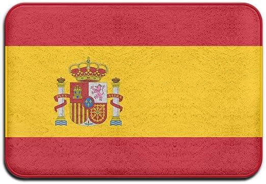 DDOBY Bandera de España Felpudo Antideslizante Casa Puerta de jardín Alfombra Puerta Estera Almohadillas de Piso: Amazon.es: Hogar