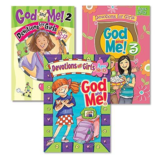 God and Me!® 3 Book Girls Devotional Bundle, Vol. 1-3 - Ages 10-12
