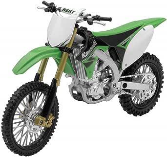 New Ray Die-Cast Kawasaki KX450F Motorcycle Replica 1:12 Scale