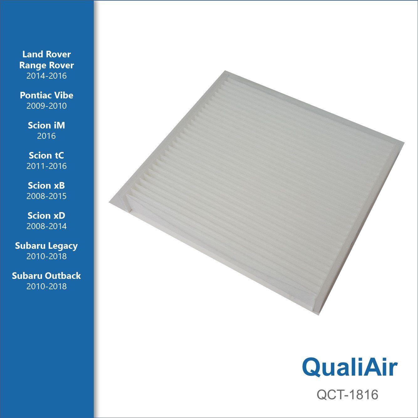 Fit for 2000-2018 Subaru Outback 2010-2018 Legacy Cabin Conditioner Air Filter