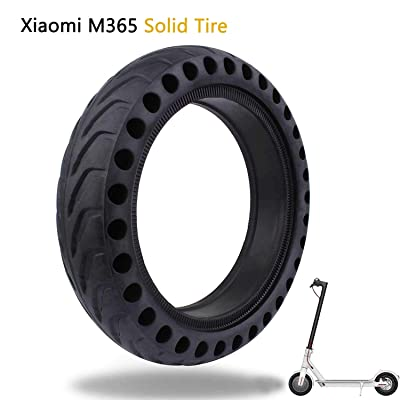 HoTome Solid Tire Compatible with Xiaomi M365, Honeycomb Rubber Damping Solid Tire 8.5 Inch Front/Rear Tire Wheel Replacement for Xiaomi M365 Electric Scooter : Sports & Outdoors