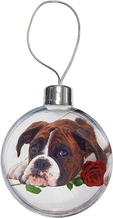pendaison décoration Arbre Décoration Bulldog anglais décoration de Noël