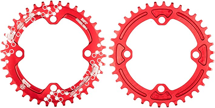 Chooee Plato de Aluminio con 30 Dientes para Bicicleta de montaña ...