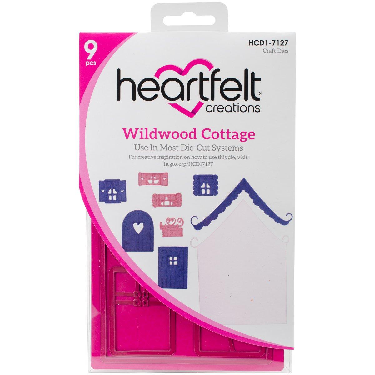 Heartfelt Creations Wildwood Cottage .5 to 5.5'' Emboss Dies