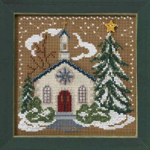 Country Church (beaded kit) (Country Christmas Cross Stitch)