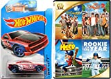 The Family Baseball Sport 4 Movie Car DVD Set SANDLOT, Rookie of The Year, Everyones Hero - Hot Wheels Baseball Car Fun Sandlot 2