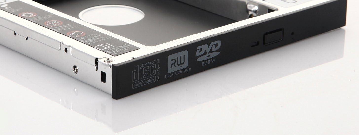 DY-tech 2nd HDD SSD Hard Drive SATA Caddy Adapter for Samsung NP-RV510 RV511 RV520 RV515