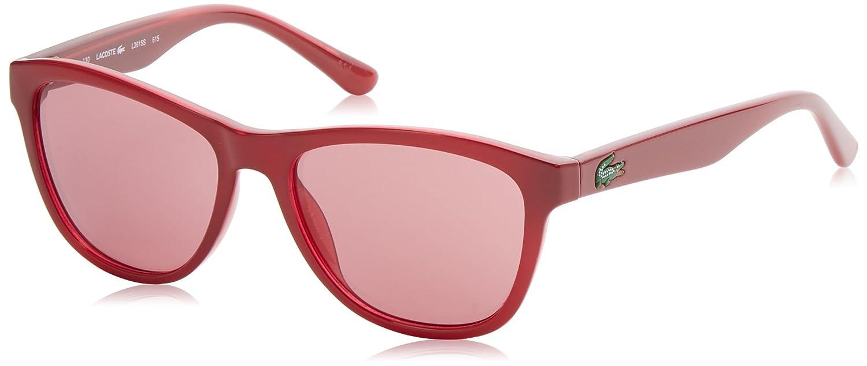 Lacoste Women''s Wayfarer Eye Sunglasses, Red (Rosso), 50 L3615S_615 L3615S_5015615_615