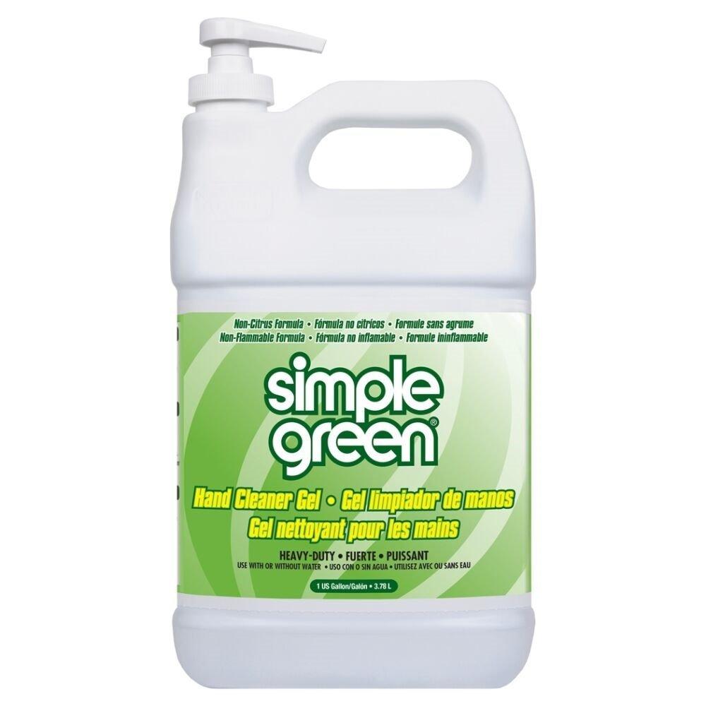 Simple verde 0910200442128 mano desengrasante y limpiador Gel con ...
