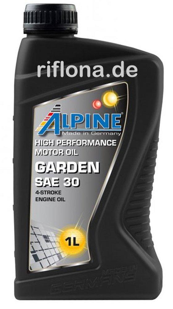 Alpine Garden SAE 30 Cortacésped aceite 4 del aceite 1 L: Amazon ...
