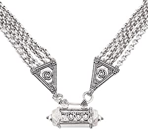 Nidhi Women's Alloy Necklace - Silver