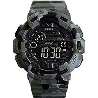 KKmoon SKMEI 1472 Analog Digital Watch Luminous Outdoor Sport Watch Men Digital Watch 5Bar Waterproof Alarm Clock Cowboy Military Fashion Watches