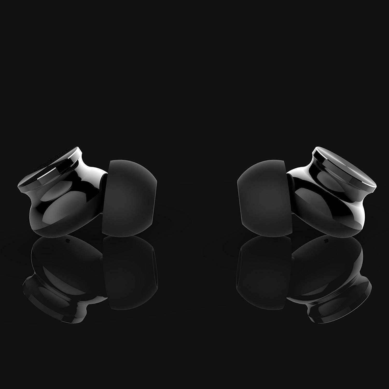 iPad iPod HANGARAY 3.5mm Earphones Headphones Powerful Bass Driven Sound Black 12mm Large Drivers Ergonomic Design for iPhone Samsung and Mp3//Mp4 Players