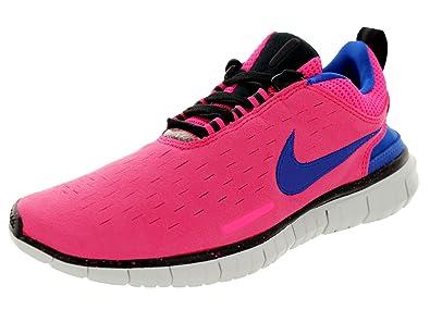 ffe172673ed6 Nike Women s Free Og  14 Hyper Pink Hyper Cobalt Running Shoe 8.5