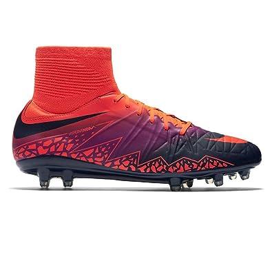 the latest 4dad5 b603c Amazon.com | Nike Hypervenom Phatal II DF FG Total Crimson ...