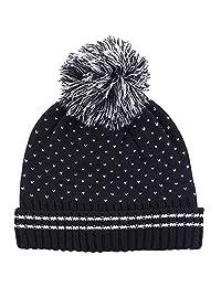 E.mirreh Baby Newborn Kids' Knitted Beanie Winter Warm Hat Boy Sesame Black