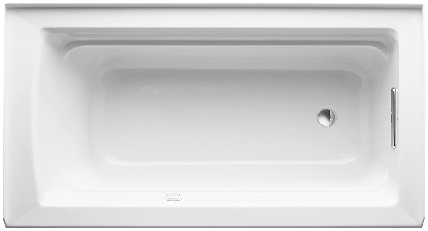Biscuit Kohler K-1122-GHRAW-96 Archer Bathtub