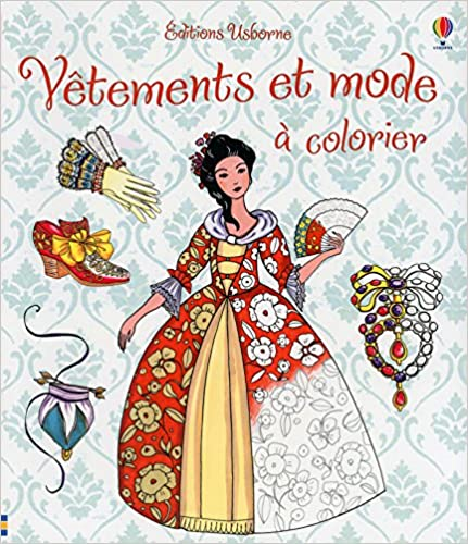 Télécharger en ligne Vêtements et mode à colorier pdf