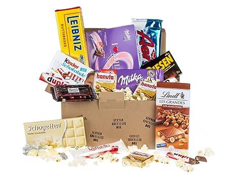 Caja de dulces y chocolates alemanes - Surtido n.º 2