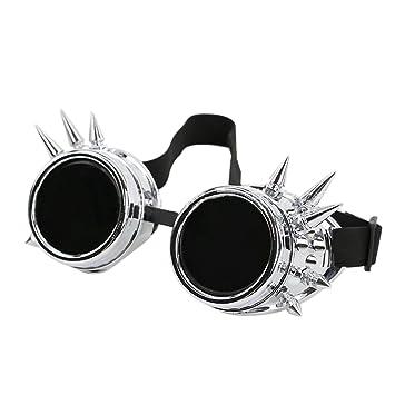 Welding Cyber goggles de soleil des Lunettes de Soudage Steampunk Antique Copper (white) tKY9g