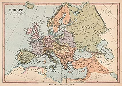 Amazon.com: EUROPE 1648-1789. End of the Thirty years war to the ...