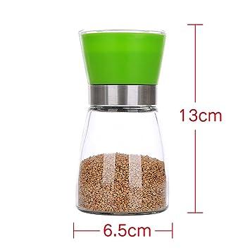 GARDEN botellas del condimento Manual de vidrio condimento tanque de utensilios de cocina creativa botella de
