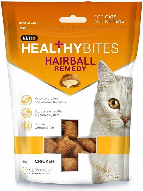 VETIQ - Snack remedio para bolas de pelo para gatos (65g) (Variado ...