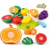 GBSELL 20PC Cutting Fruit Vegetable Pretend Play Children Kid Educational Toy Christmas Gift