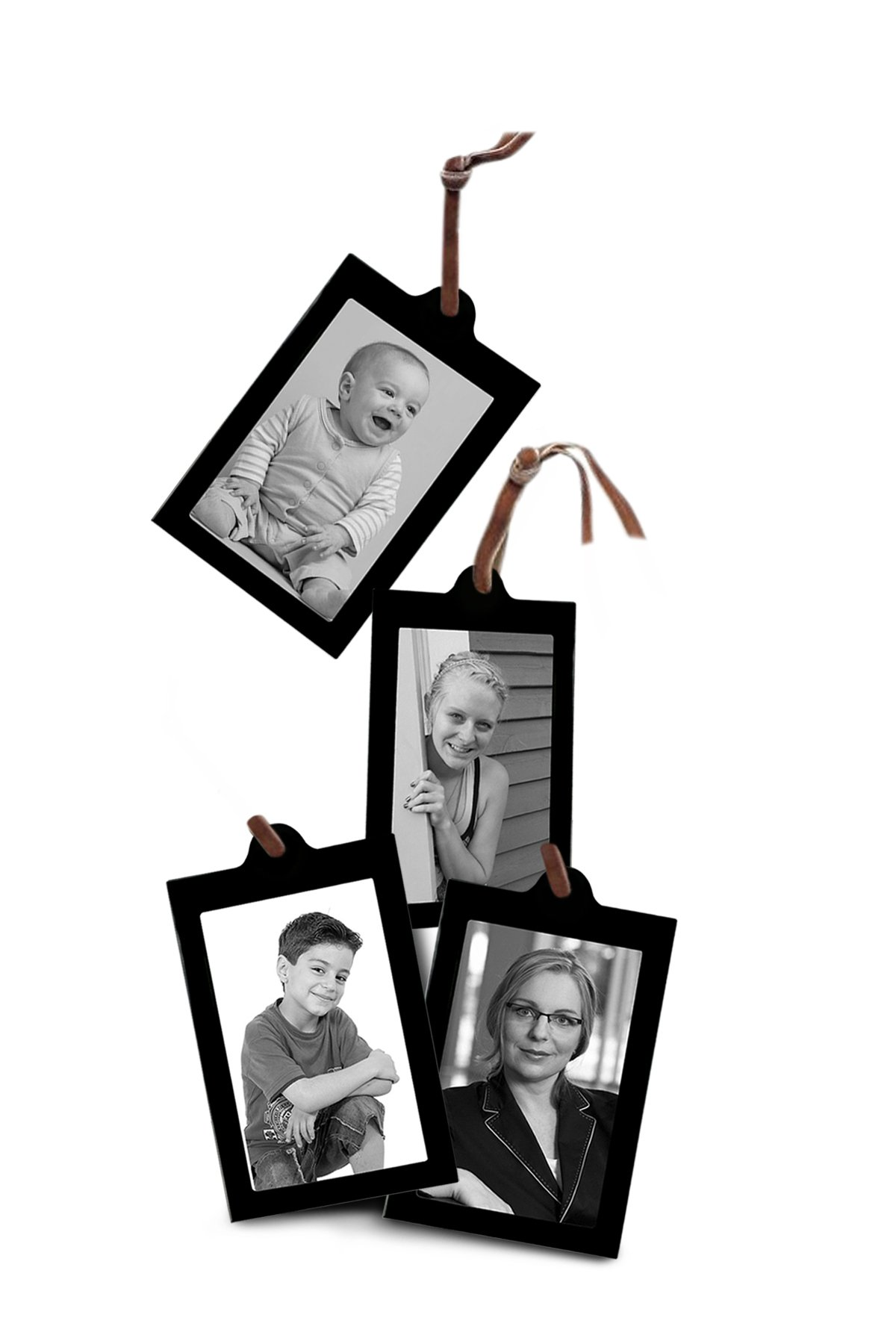 Set of 4 Extra Hanging Frames for Family Tree Size: 4\