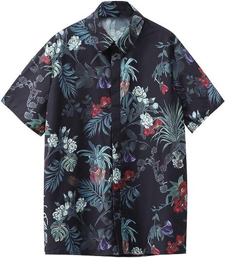 CHENS Camisa/Casual/Unisex/XL Camisa de Verano para Hombre Talla ...