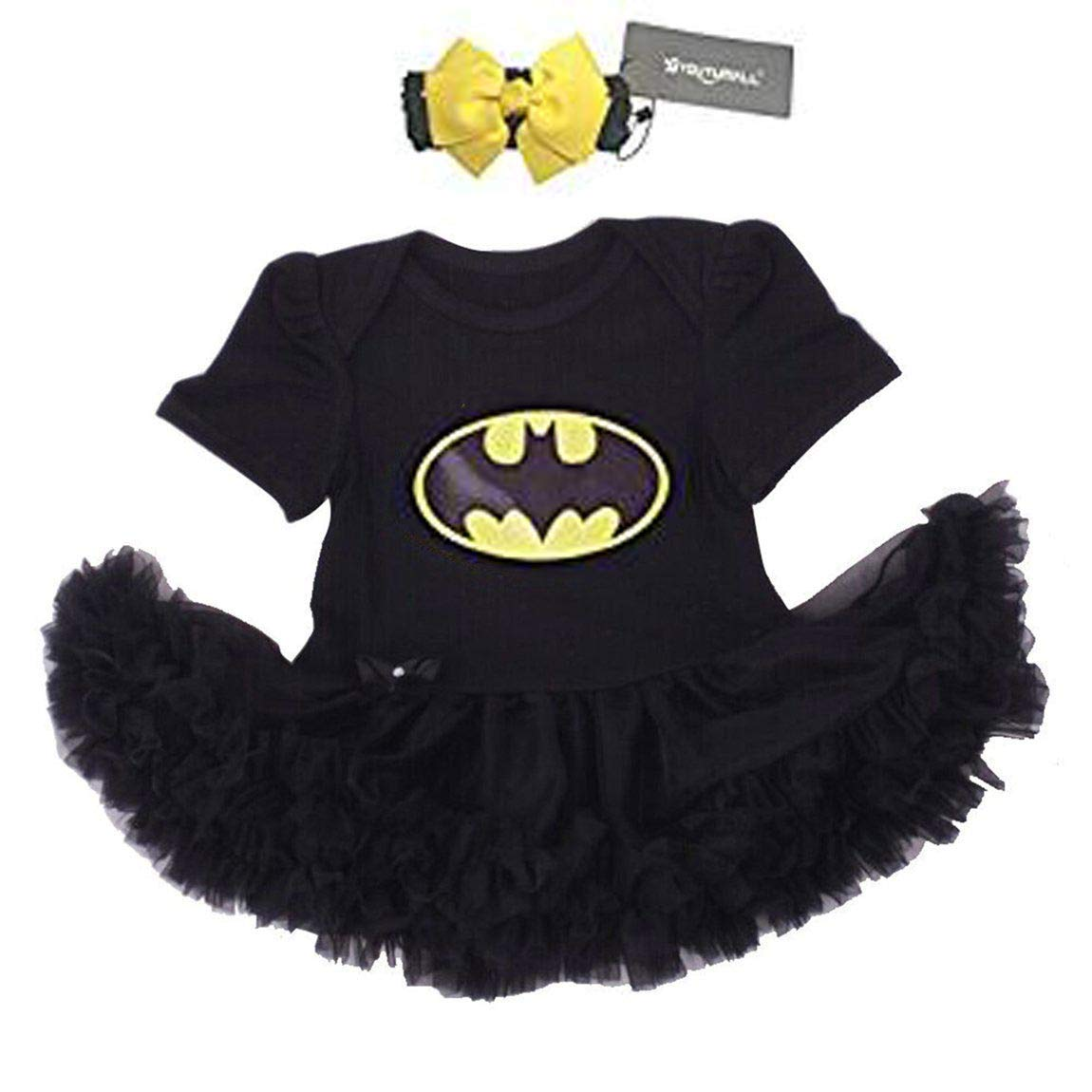 Baby Party Dress Infant Baby Cool Costume Newborn Girls Party Dress Cosplay  6-12 Months