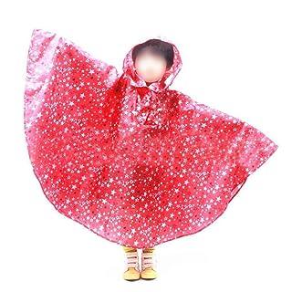 Lorsoul Bambini I Bambini Cappotto di Pioggia del Modello di Stella Raincoat Indumenti Impermeabili/Rainsuit Impermeabile Impermeabile