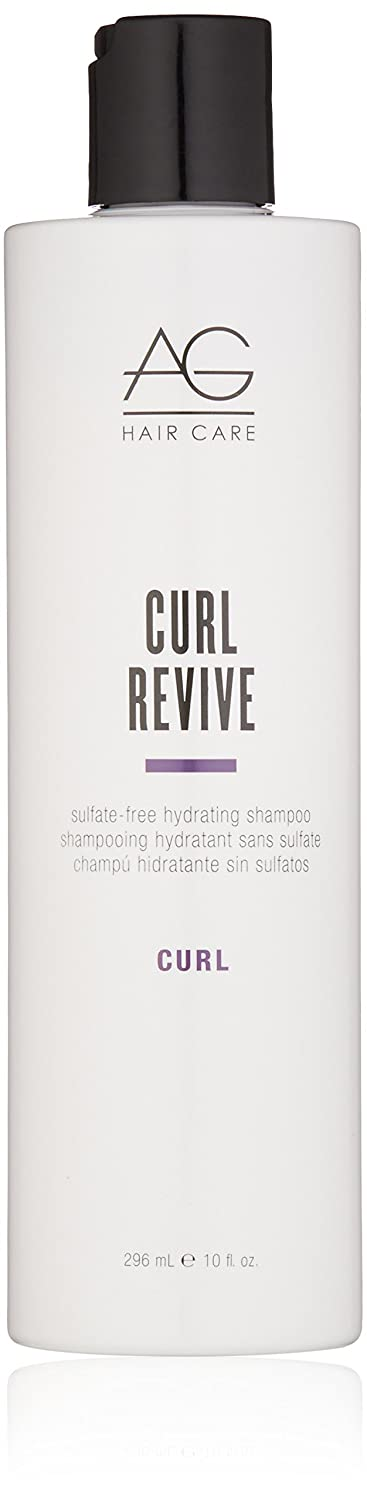 AG Hair Curl Revive Sulfate-Free Hydrating Shampoo, 10 Fl Oz