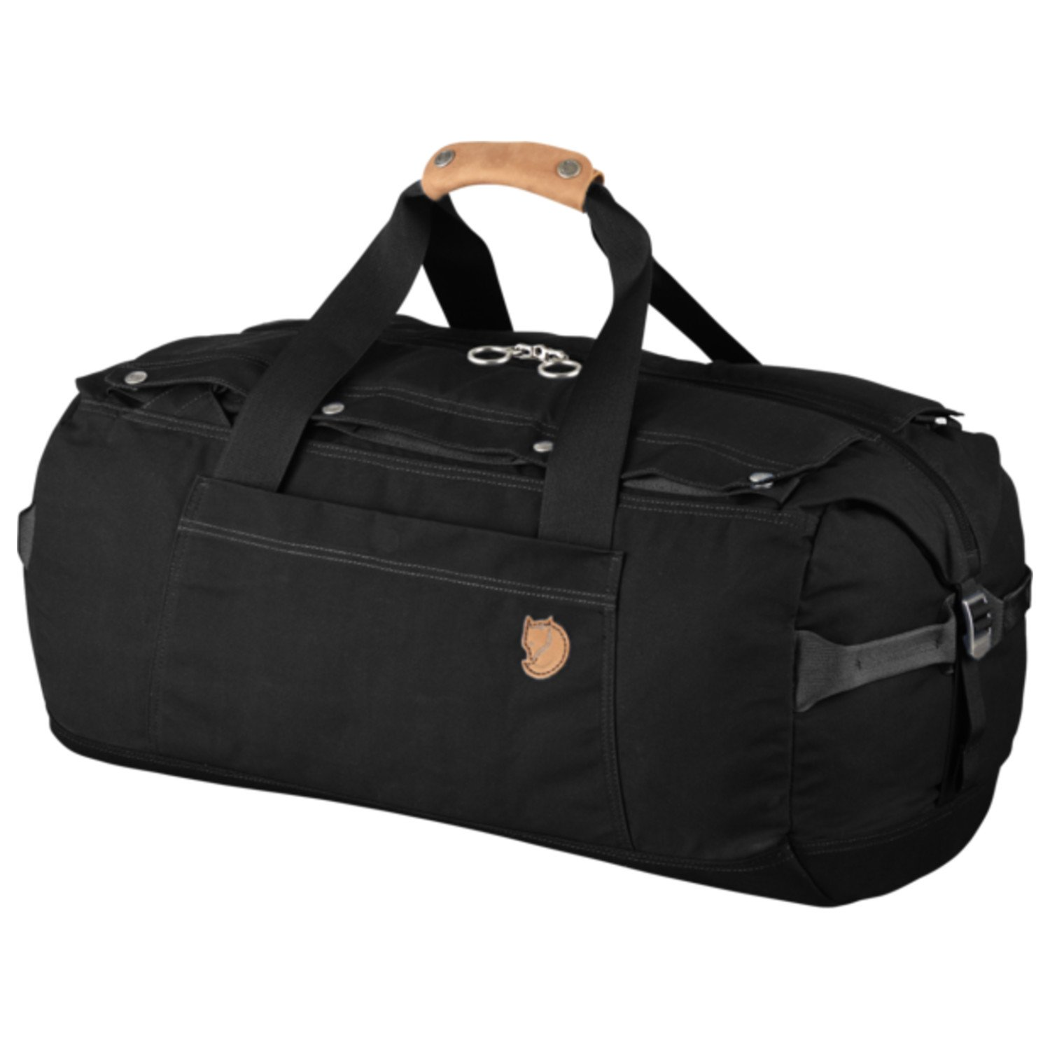 Fjallraven Duffel No. 6 Bag, Black, Large