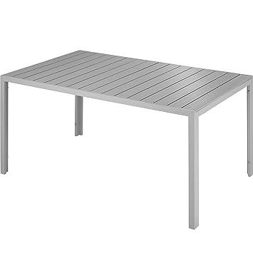 TecTake 800716 Table de Jardin de terrasse extérieure, Cadre ...
