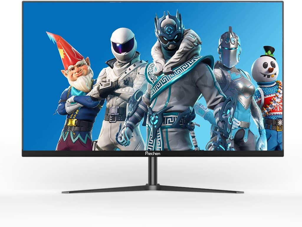 32 inch Gaming Monitors 1080p Frameless Widescreen IPS Monitor,60Hz,5ms,IPS Panel,with HDMI and VGA Interface, Laptop Monitor for PS3 / PS4 / Xbox/PC,Black, Prechen
