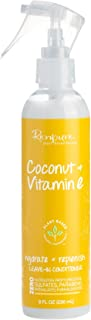 product image for Renpure Plant-Based Beauty Coconut & Vitamin E Hydrate + Replenish Leave-in Conditioner, 8 Fluid Ounce