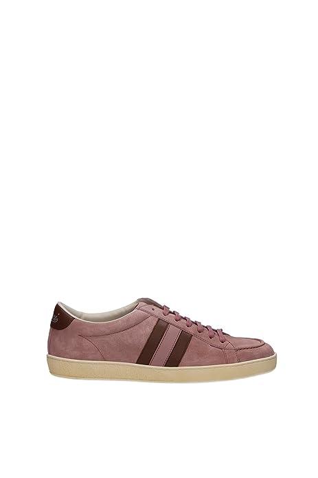 338923CKKA06873 Gucci zapatillas de mujer de piel Rosa, color rosa, talla 38: Amazon.es: Zapatos y complementos