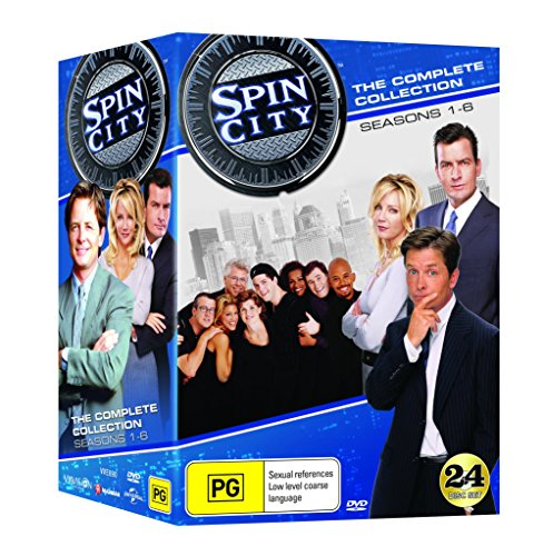 Spin City Complete Collection (DVD - USA FORMAT) (Spin City Season 5)