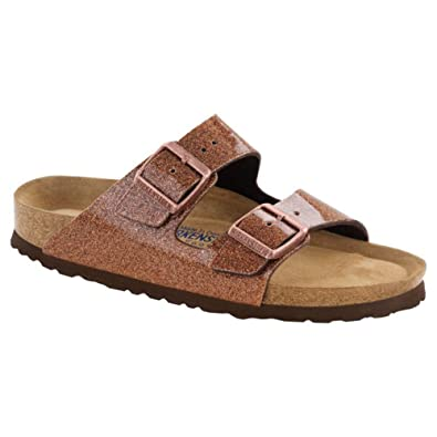 f2fa99be2357d9 Birkenstock Arizona Birko-Flor Sandale Weichbettung normal magic galaxy  bronze - 36